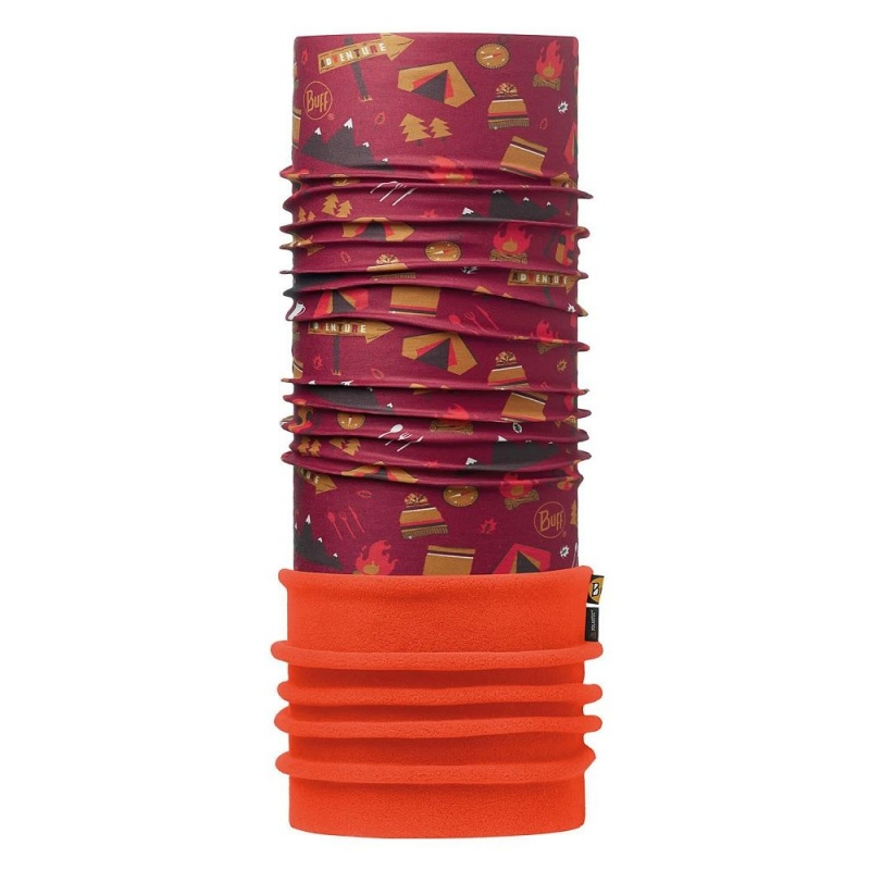 фото Бандана BUFF 2016-17 JUNIOR POLAR BUFF® ADVENTURE GRANA / ORANGE-GRANA-Standard